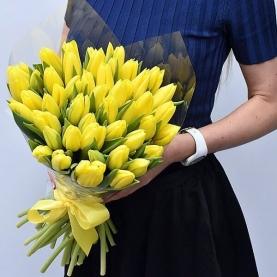 45 Желтых Тюльпанов фото