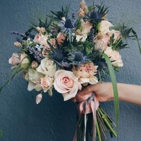 Букет Невесты с Лавандой фото