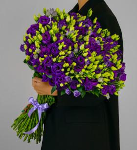 45 Фиолетовых Эустом фото