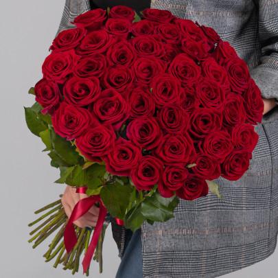 45 Красных Роз (50 см.) фото
