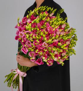45 Розовых Эустом фото