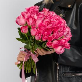 45 Розовых Роз (40 см.) фото