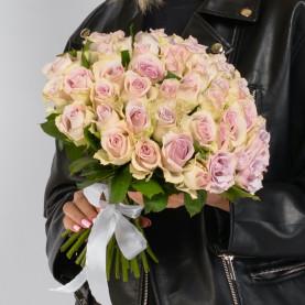 45 Сиреневых Роз (40 см.) фото