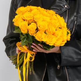 45 Желтых Роз (40 см.) фото