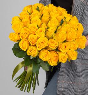 45 Желтых Роз (50 см.) фото