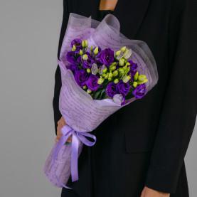 5 Фиолетовых Эустом фото