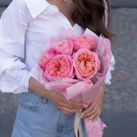 5 Пионовидных Роз фото