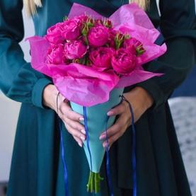 5 Роз Lady Bombastic (50/60 см.) фото