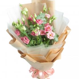 5 Розовых Эустом фото