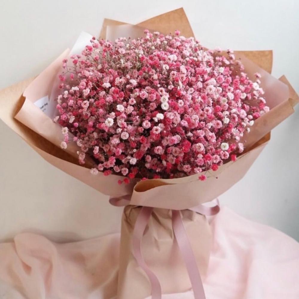9 Розовых Гипсофил фото