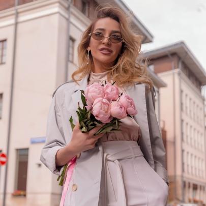 5 Розовых Пионов фото