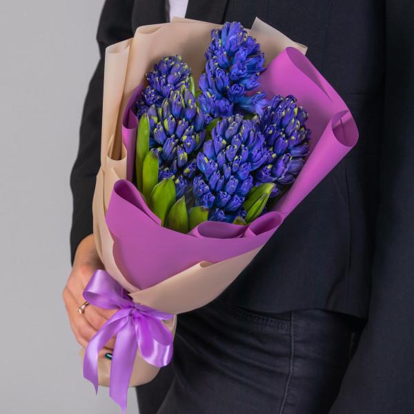5 Синих Гиацинтов