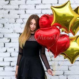 5 воздушных шаров Любимой фото