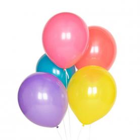 5 Ярких Цветных Воздушных Шаров фото