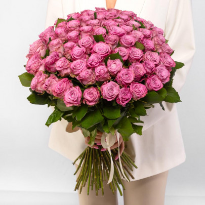 51 Фиолетовая Роза (60 см.) фото