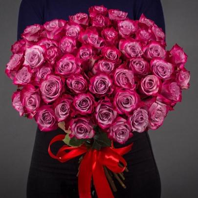 51 Фиолетовая Роза Эквадор (50/60 см.) фото