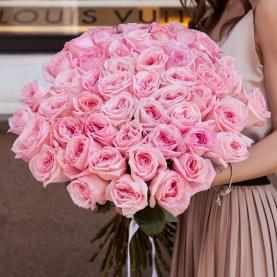 51 Розовая Роза Ароматная (50/60 см.) фото