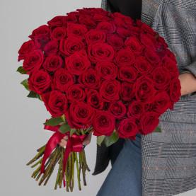 51 Красная Роза (50 см.) фото