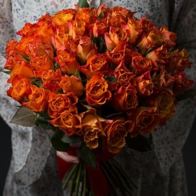 51 Оранжевая Роза фото