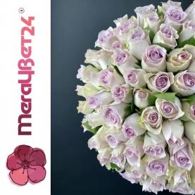 51 Сиреневая Роза (40 см.)