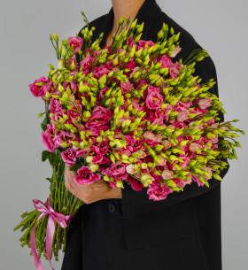 51 Розовая Эустома фото