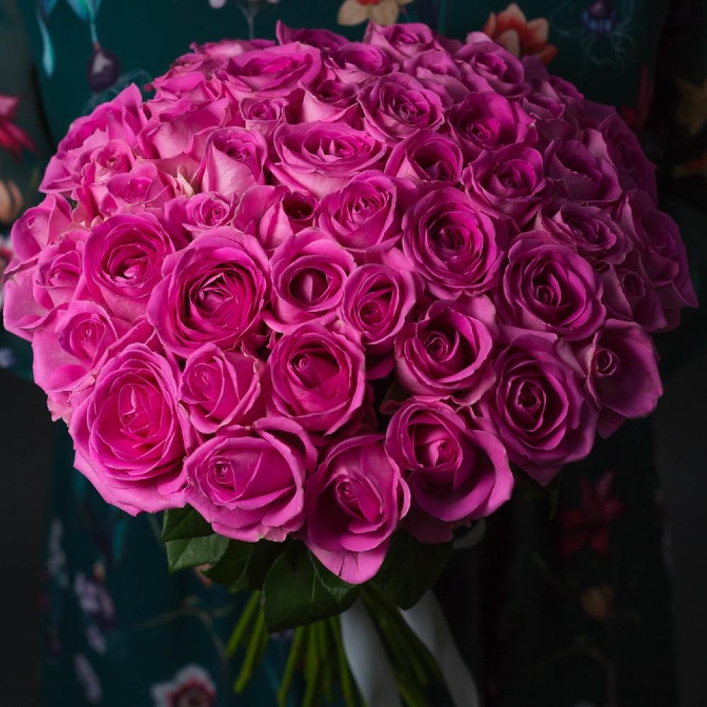 51 Розовая Роза (40 см.) фото