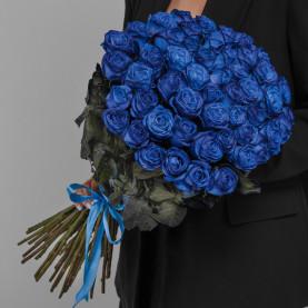 51 Синяя Роза (70 см.) фото