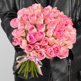 51 Светло-Розовая Роза (40 см.) фото