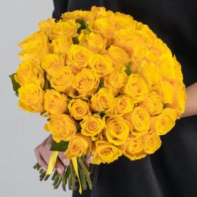 55 Желтых Роз (40 см.) фото