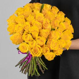 51 Желтая Роза (40 см.) фото