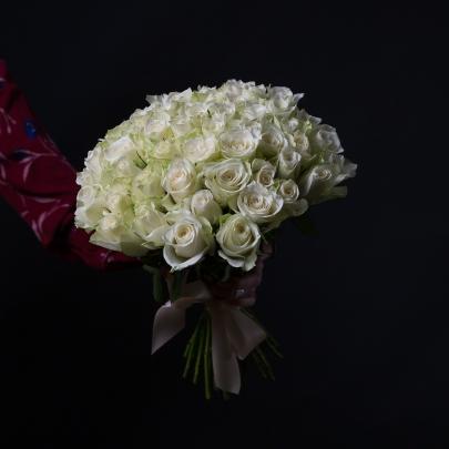 55 Белых Роз фото