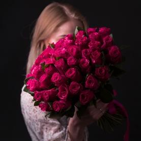 55 Малиновых Роз фото