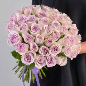 55 Сиреневых Роз (40 см.) фото
