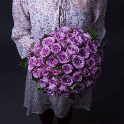 55 Сиреневых Роз фото