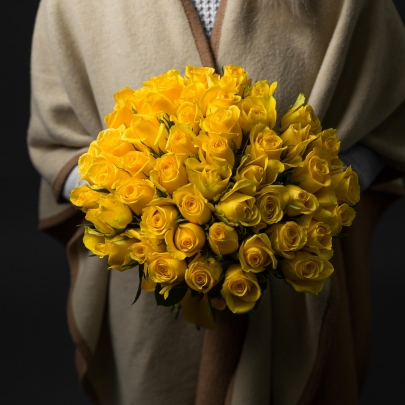 55 Желтых Роз фото