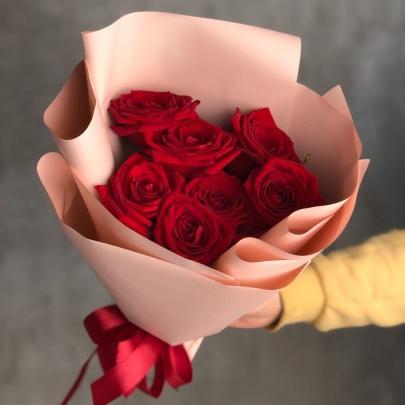 7 Красных Роз (50 см.)