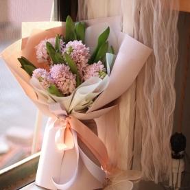7 Розовых Гиацинтов фото