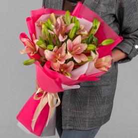 7 Розовых Лилий фото