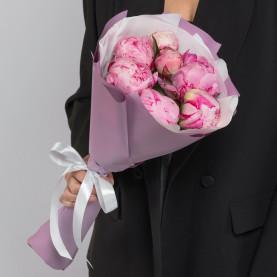 7 Розовых Пионов фото