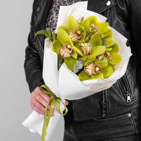 7 Зеленых Орхидей фото