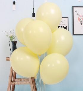 7 Желтых Воздушных Шаров