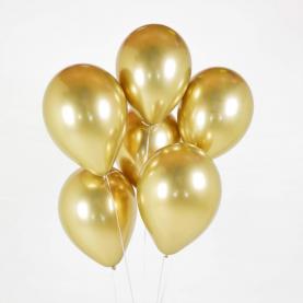 7 Золотых Воздушных Шаров фото