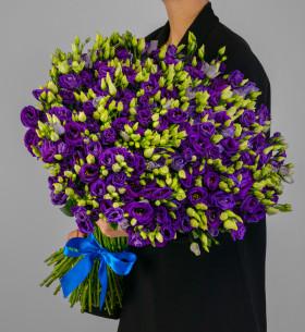 75 Фиолетовых Эустом фото
