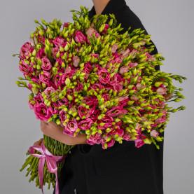 75 Розовых Эустом фото