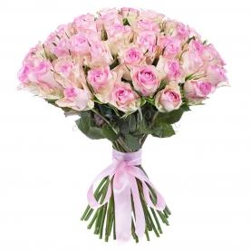 75 Розовых Роз фото