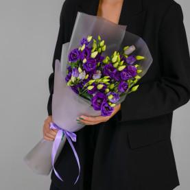 9 Фиолетовых Эустомфото