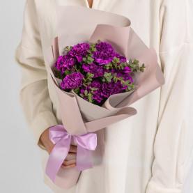 9 Фиолетовых Гвоздик фото