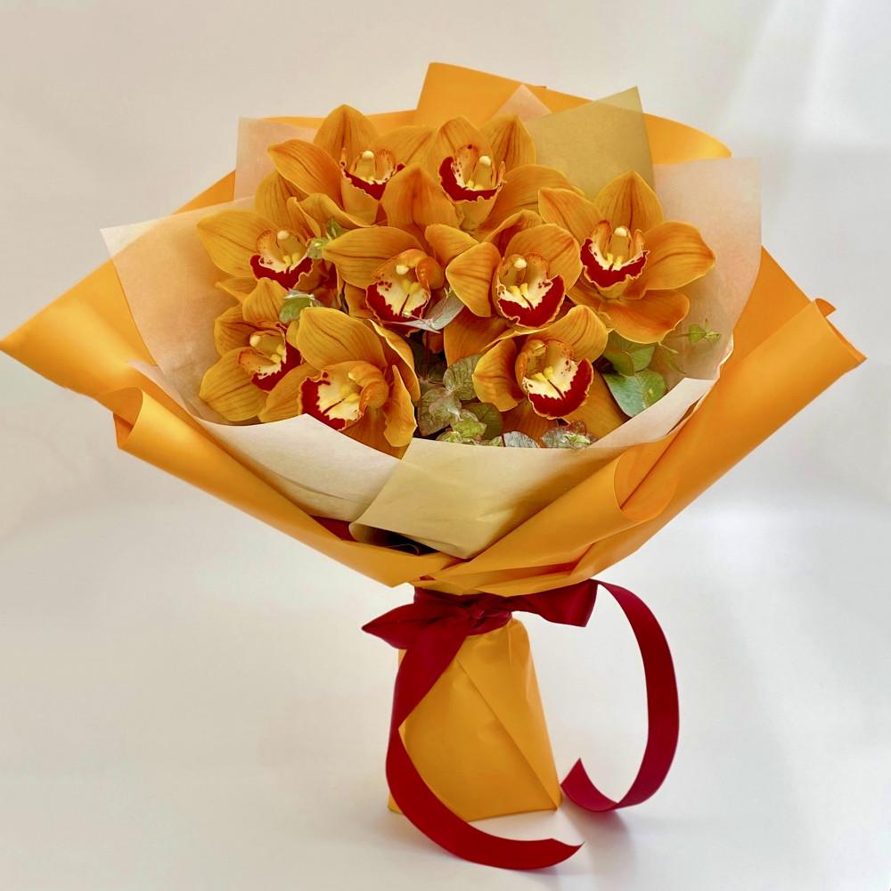 9 Карамельных Орхидей фото
