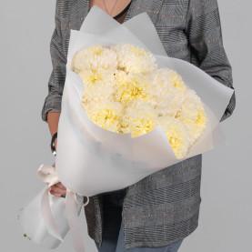 9 Кремовых Хризантем Бигуди фото
