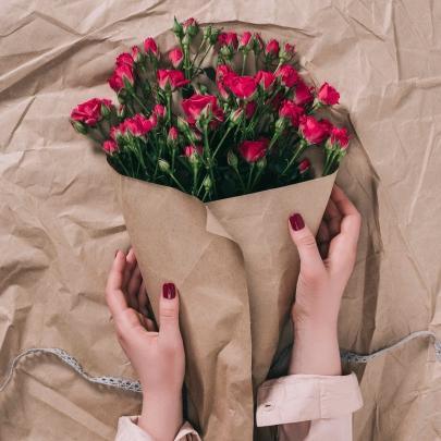 9 Кустовых Роз фото
